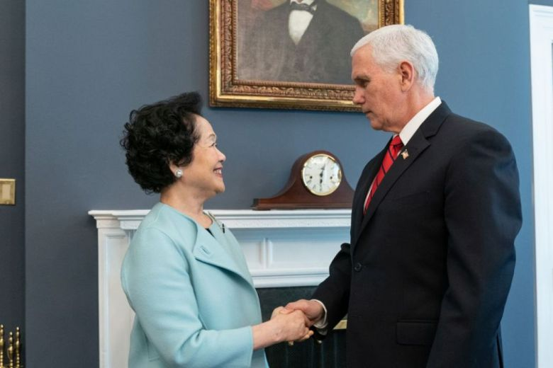 Anson Chan Mike Pence