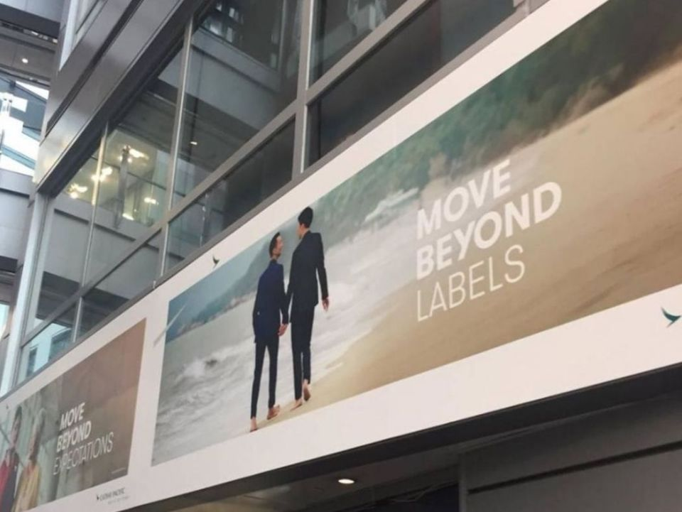 cathay pacific gay men