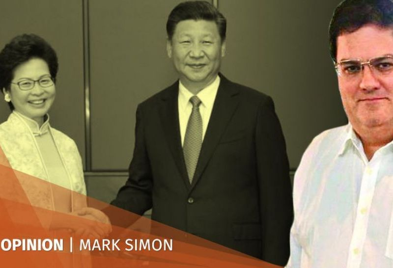 mark simon xi jinping carrie lam new york