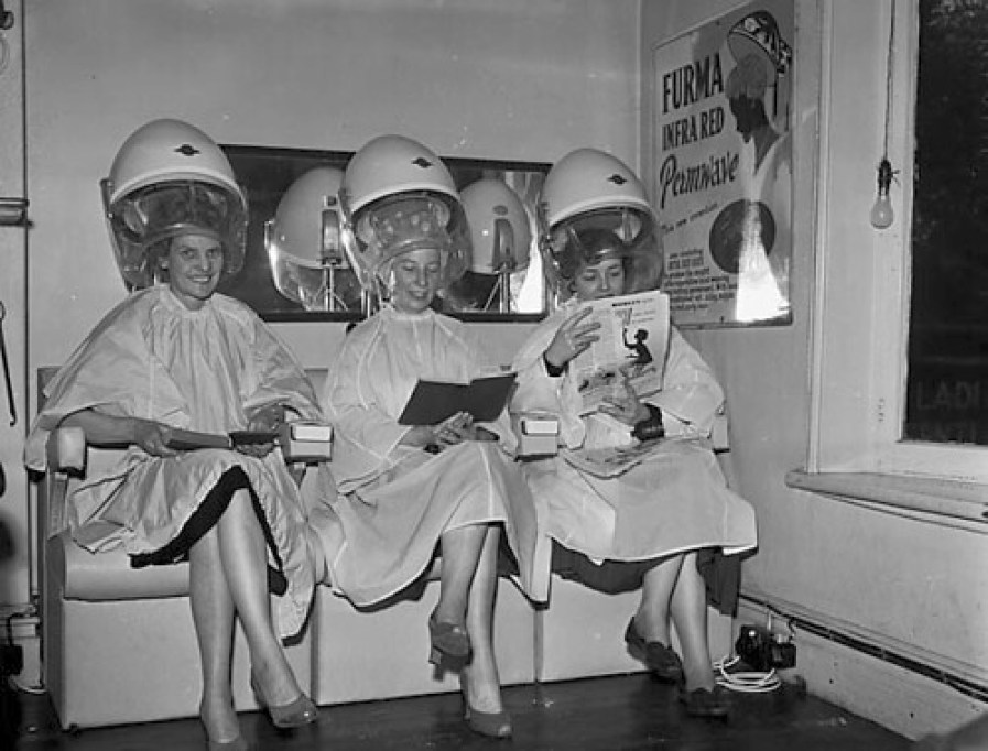 1950s hairdresser