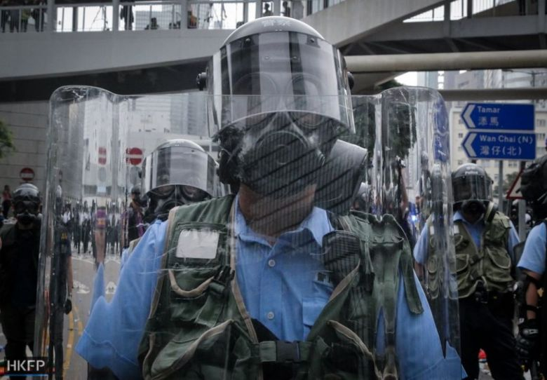 Wednesday June 12 extradition law protest LegCo