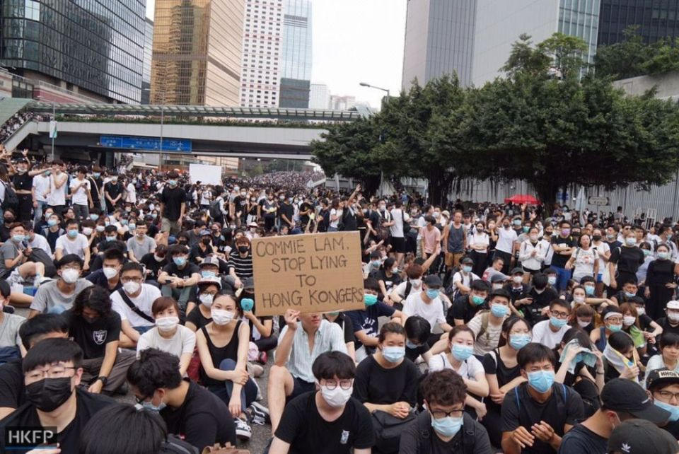 extradition bill occupation protest