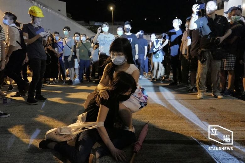 july 30 china extradition kwai chung police station (4)