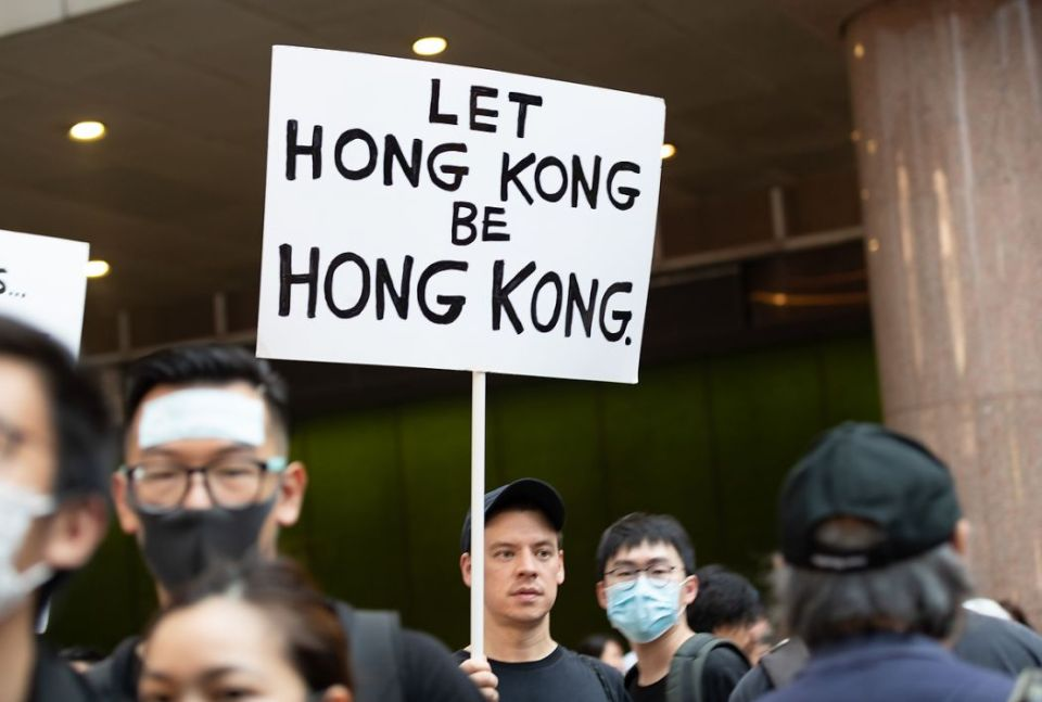July 14 Sunday anti-extradition protest Mong Kok Tsim Sha Tsui Nathan Road