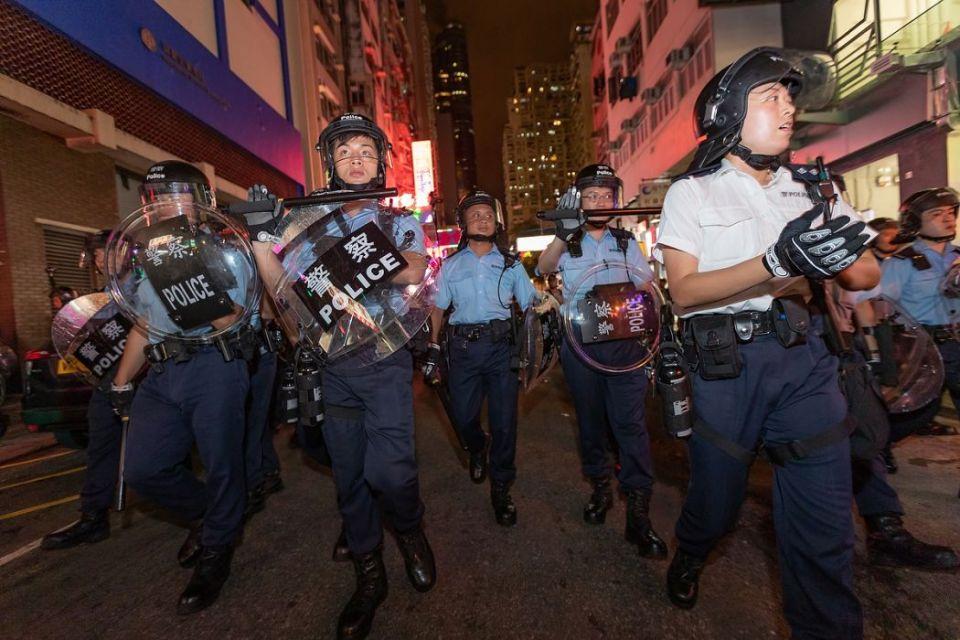 July 14 Sunday anti-extradition protest Mong Kok Tsim Sha Tsui Nathan Road
