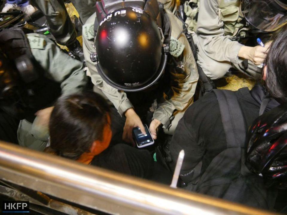 july 28 Hong Kong island protest china extradition