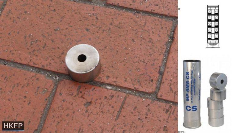 tear gas round yuen long