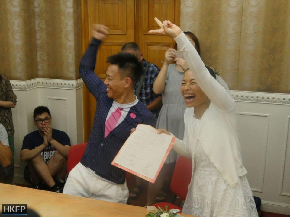 elaine to henry tong wedding