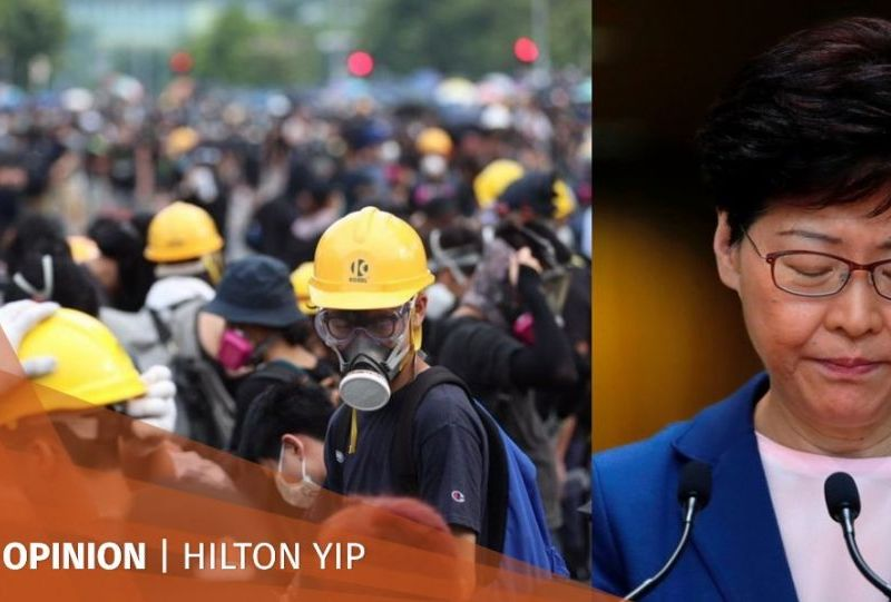 Hilton Yip china extradition protests government economy