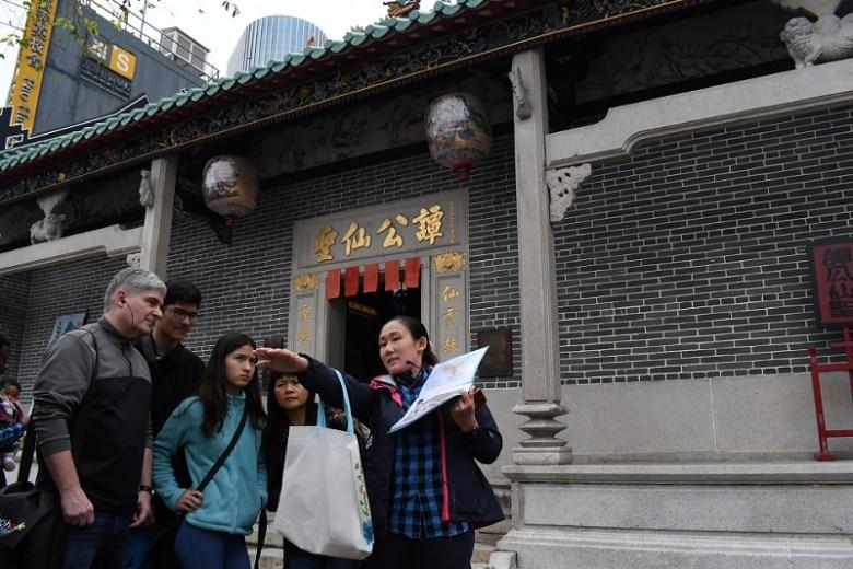 Tourism temple