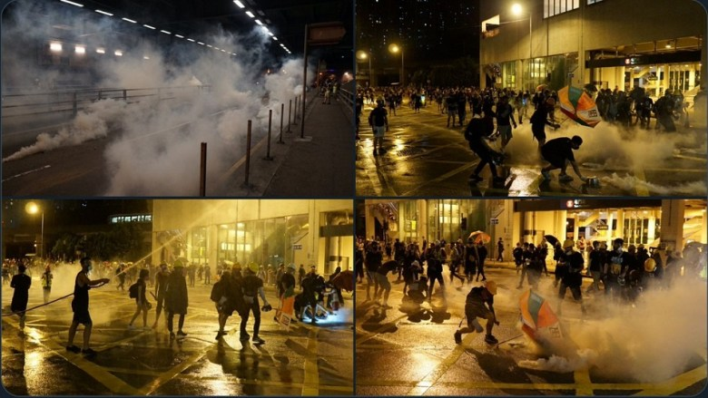 tear gas tuen mun august 5 extradition