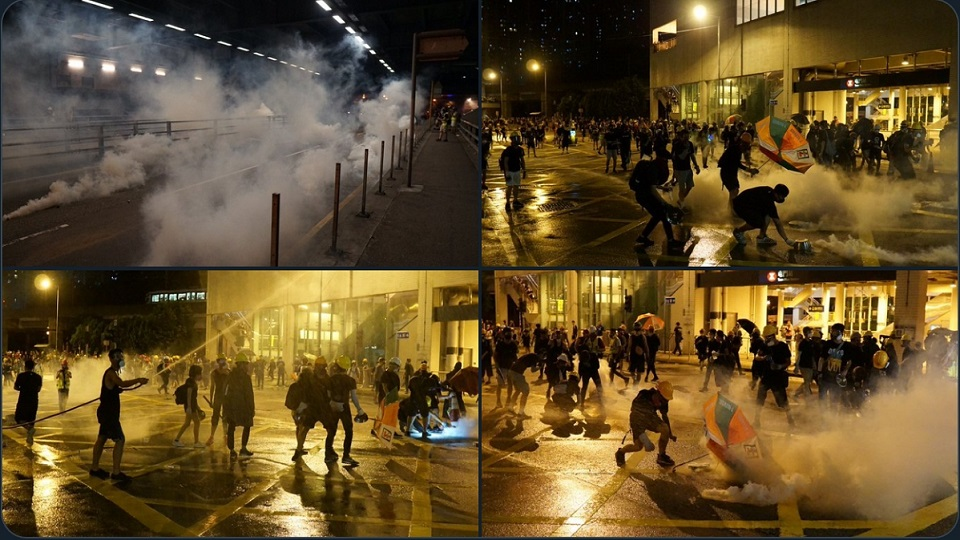 tear gas tuen mun august 5 extradition