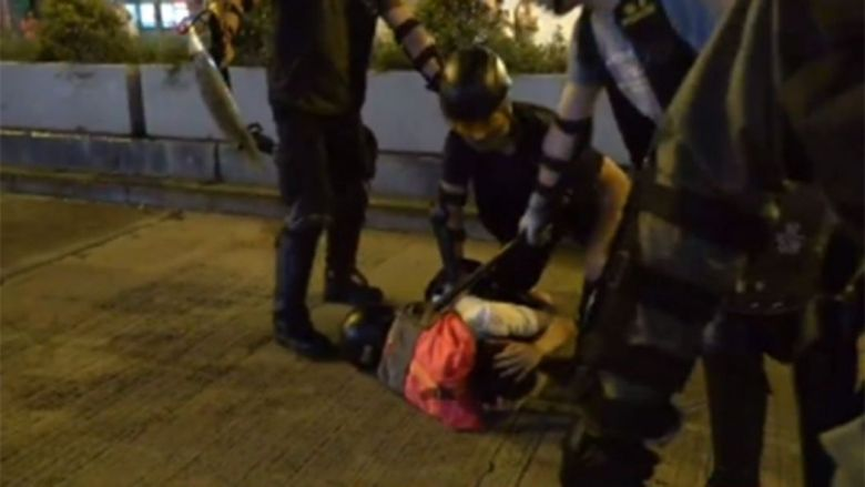 mongkok sep 2 china extradition protest