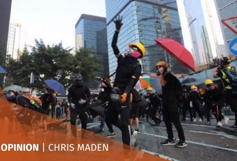 chris maden hong kong protests