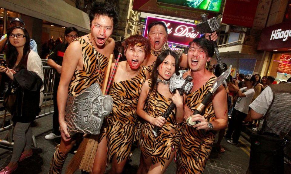 Halloween Lan Kwai Fong