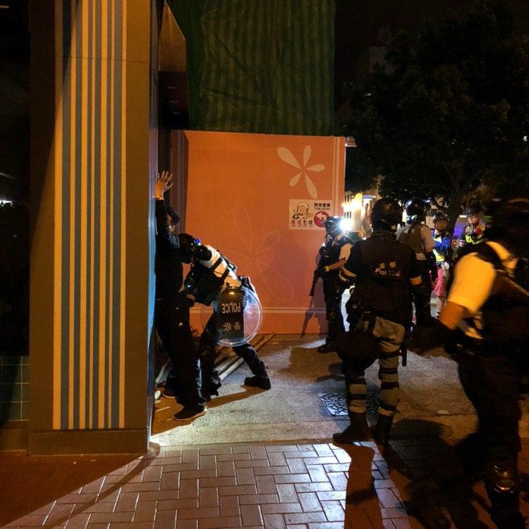 Tuen Mun protest Oct 28