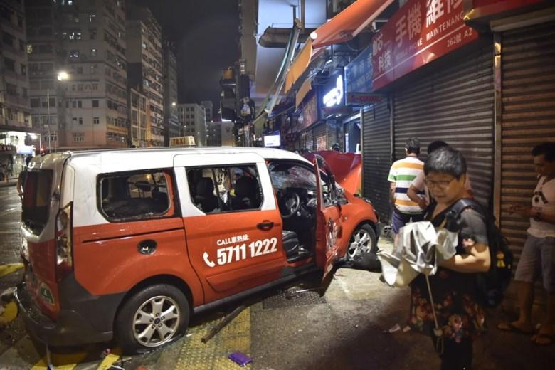 october 6 taxi ramming