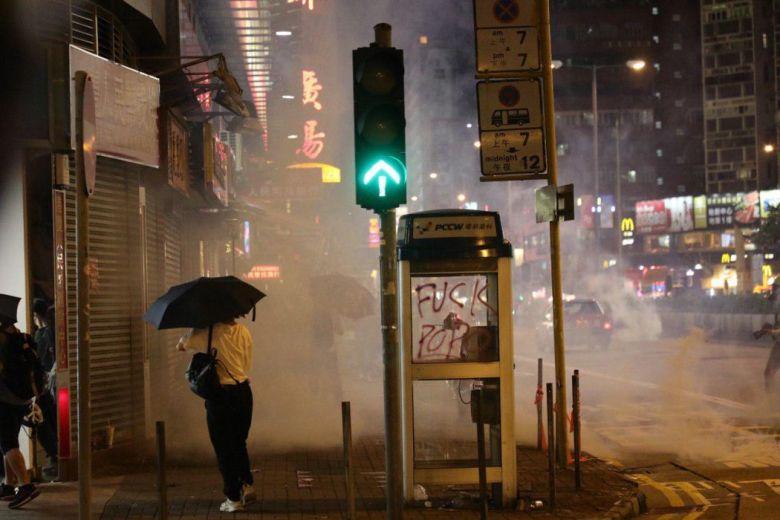 Mong Kok october 7