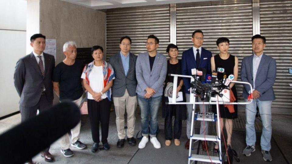 dennis kwok high court mask ban china extradition democrats