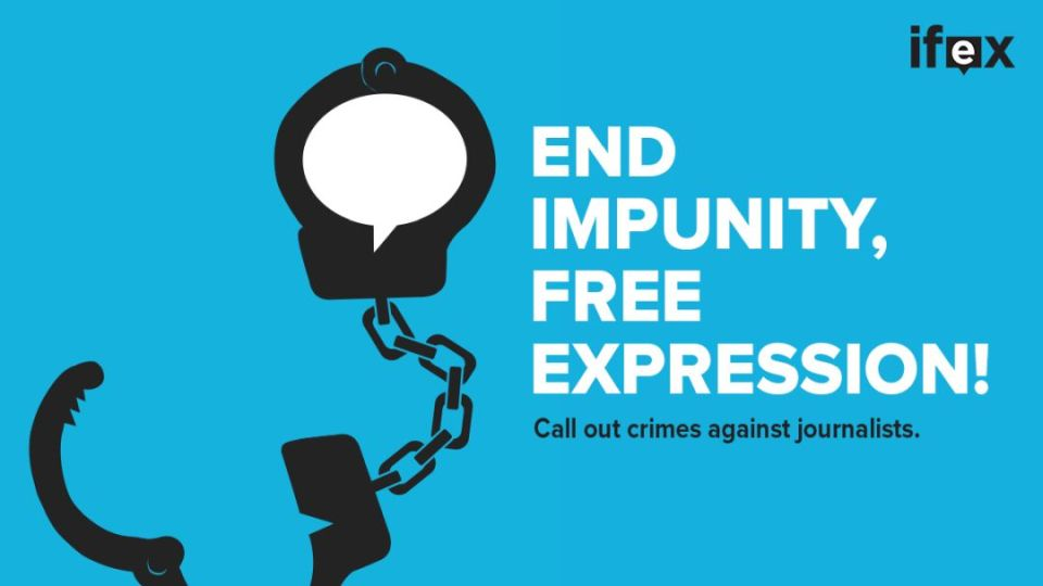 end impunity, free expression