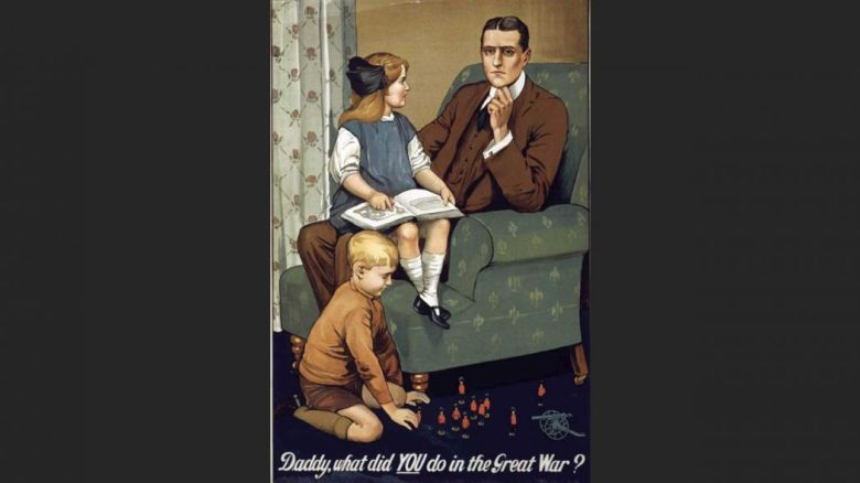 world war 1 what did you do in the great war daddy