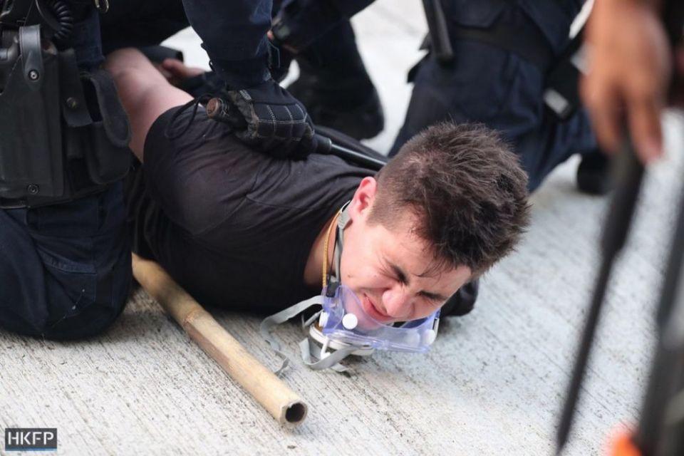 arrest october 20 kowloon