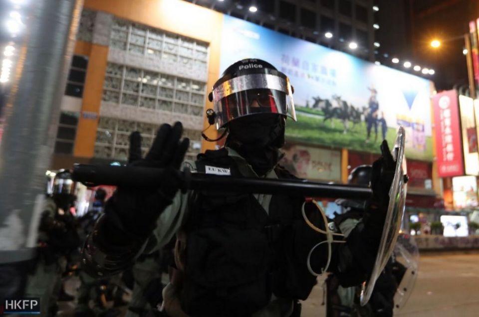 police october 20 kowloon baton