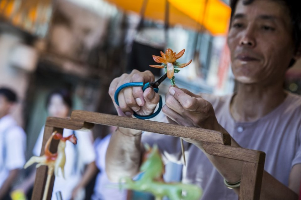 Louis To Cheung Chau sweets candy figures