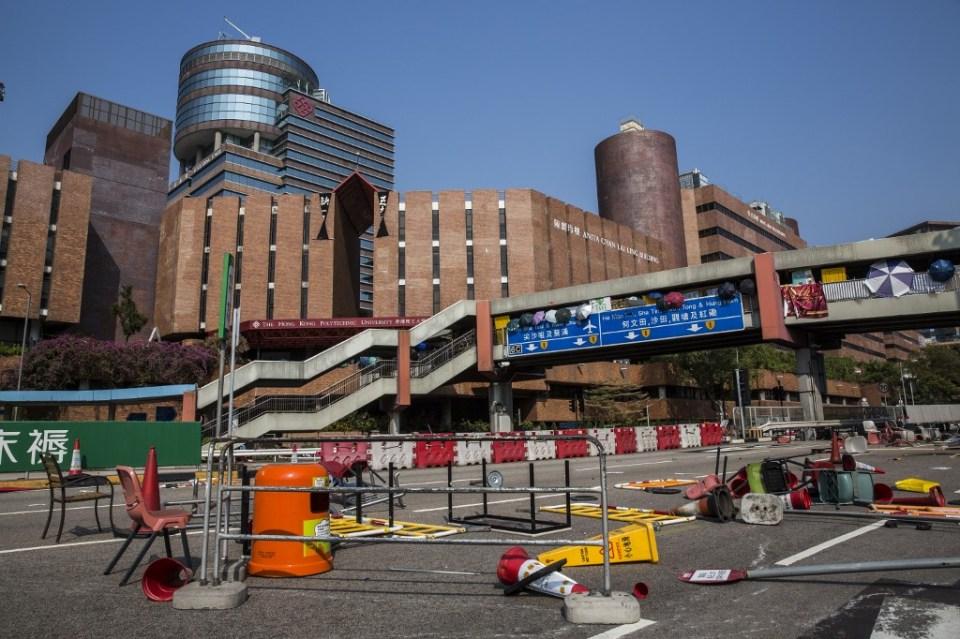Hong Kong Polytechnic University Harbour Tunnel