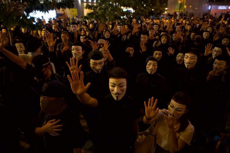 november 5 guy fawkes mask v vendetta Tsim sha tsui