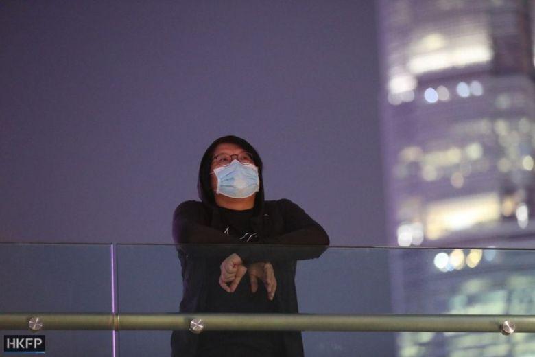 """November 9"" rally Tamar Park Alex Chow protest pro-democracy Admiralty"