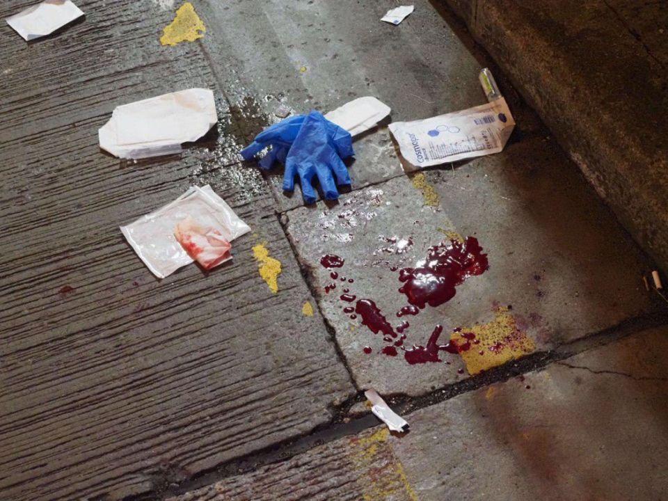 """November 10"" protest Mong Kok blood paramedic bandages"