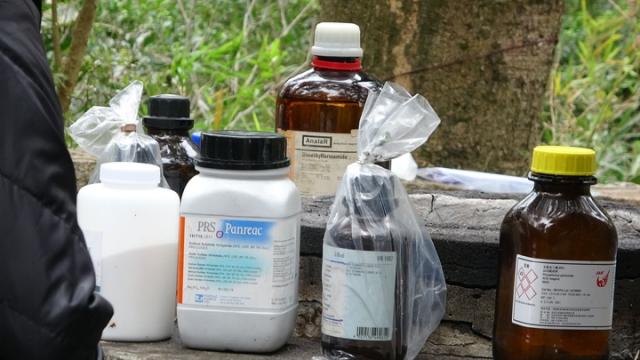Shing Mun chemical