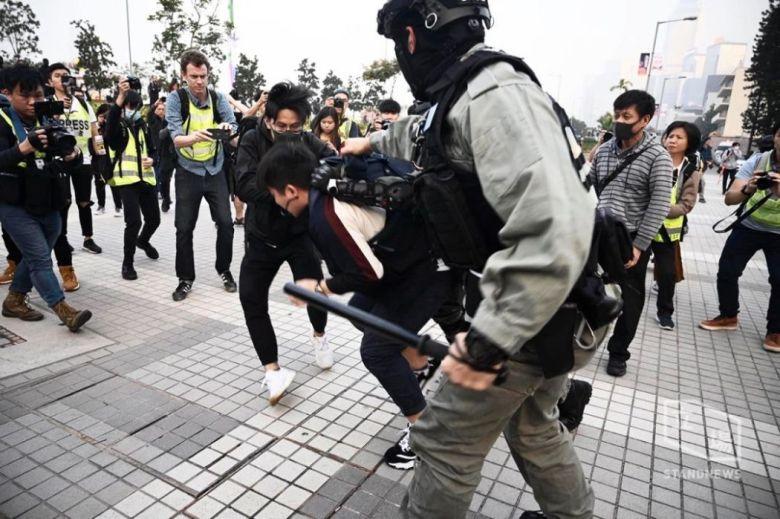 edinburgh place December 22 uyghur rally police