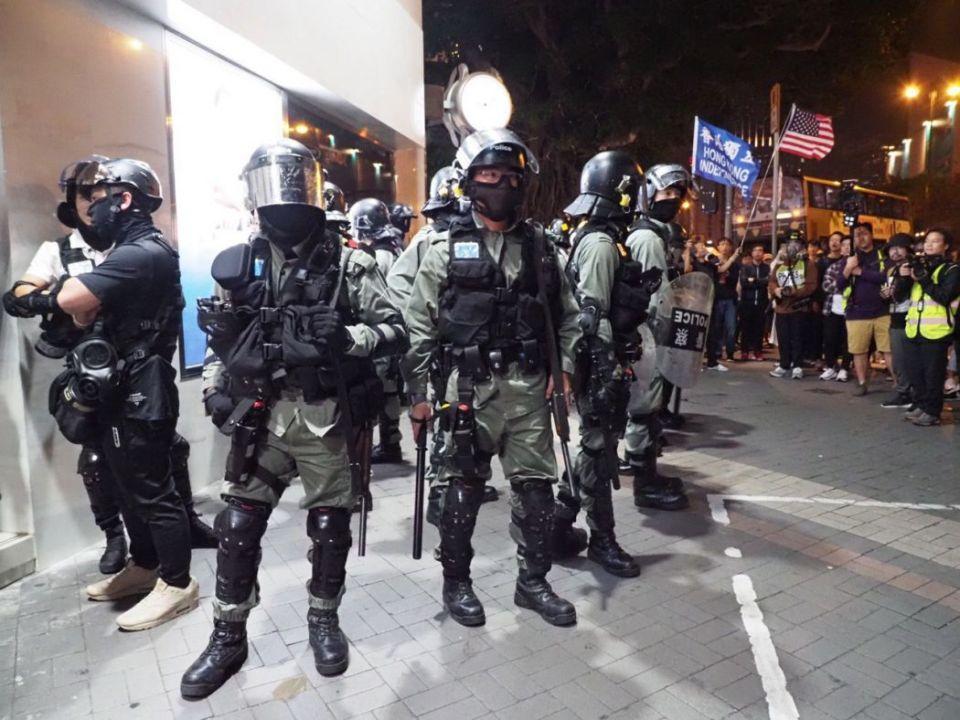 december 24 riot police