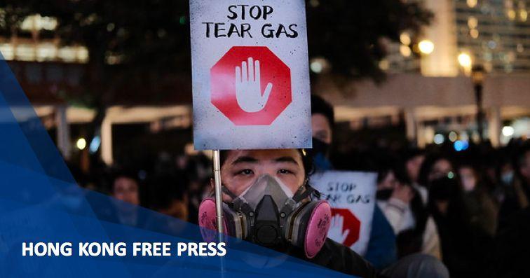 december 6 tear gas rally