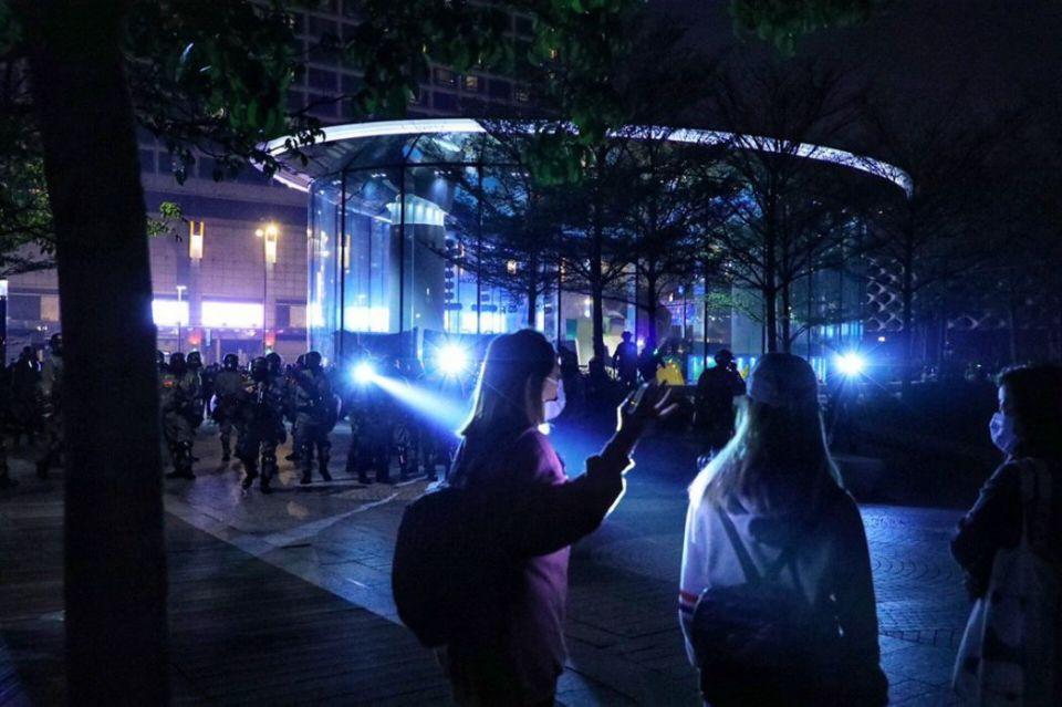 Tsim Sha Tsui december 24