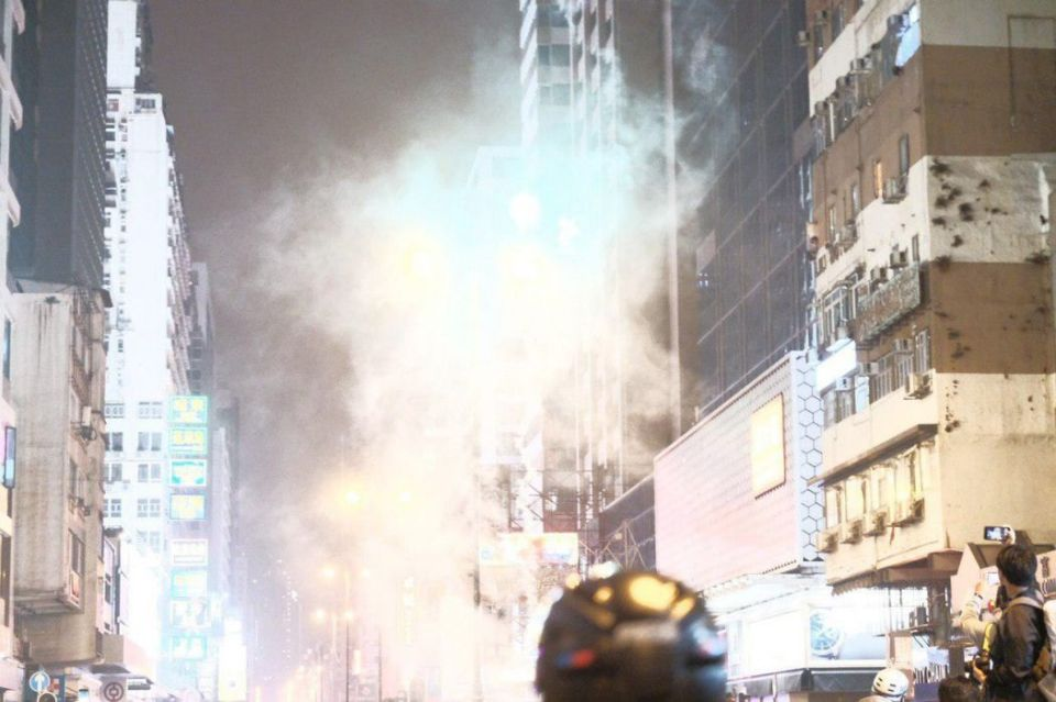 tear gas december 31 tsim sha tsui