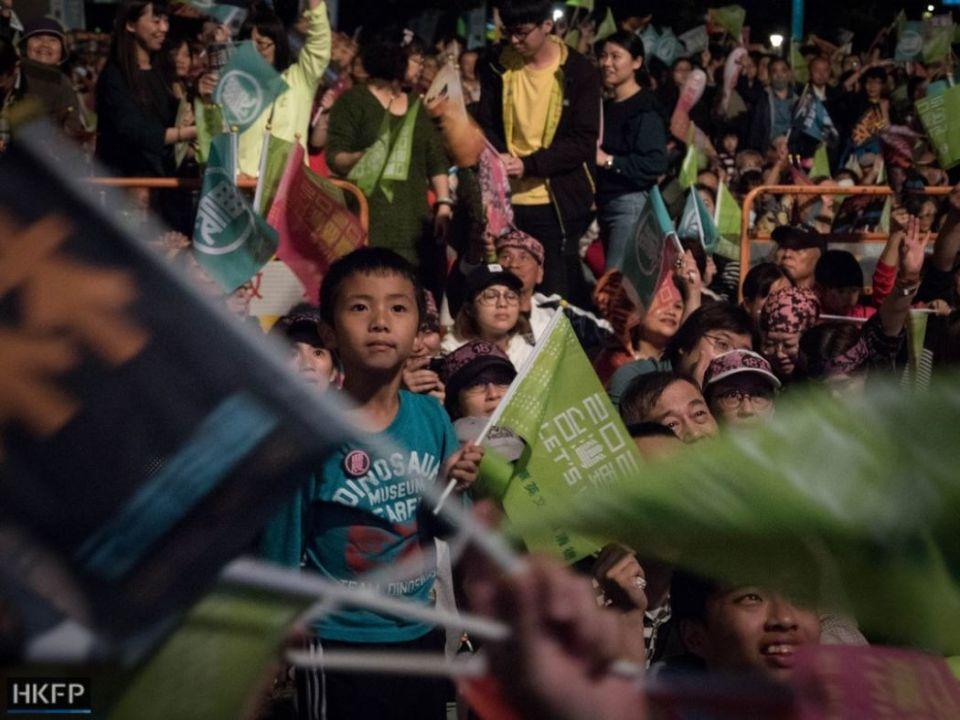 January 10 DPP Democratic Progressive Party Taipei presidential election