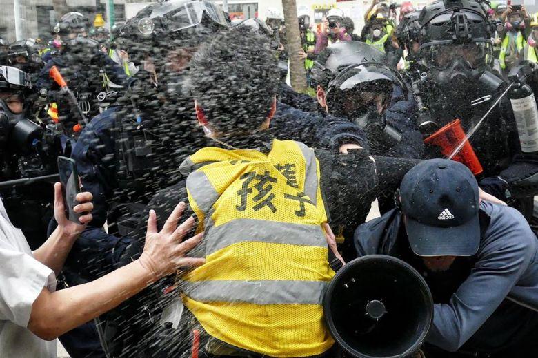 january 19 pepper spray