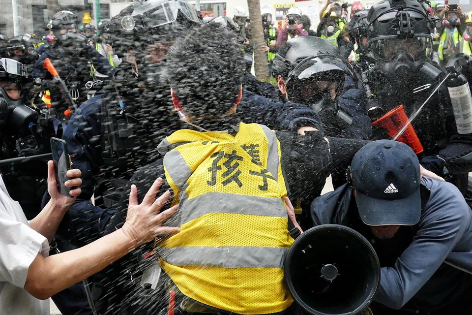 january 19 pepper spray