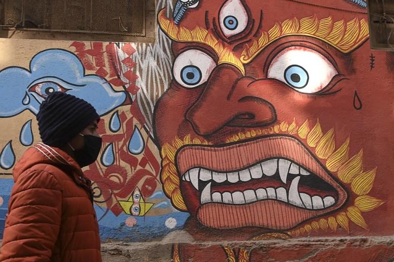 nepal face mask