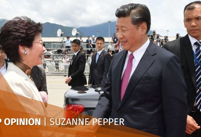 Xi Jinping Carrie Lam Suzanne Pepper