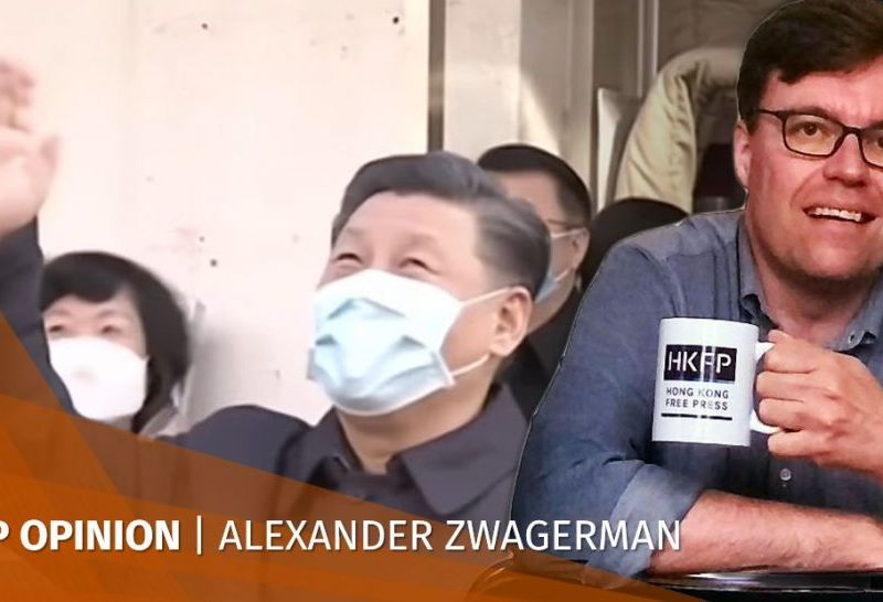 Xi Jinping virus face mask