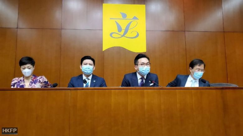 Tanya Chan, Jeremy Tam, Alvin Yeung, Kwok Ka-ki.