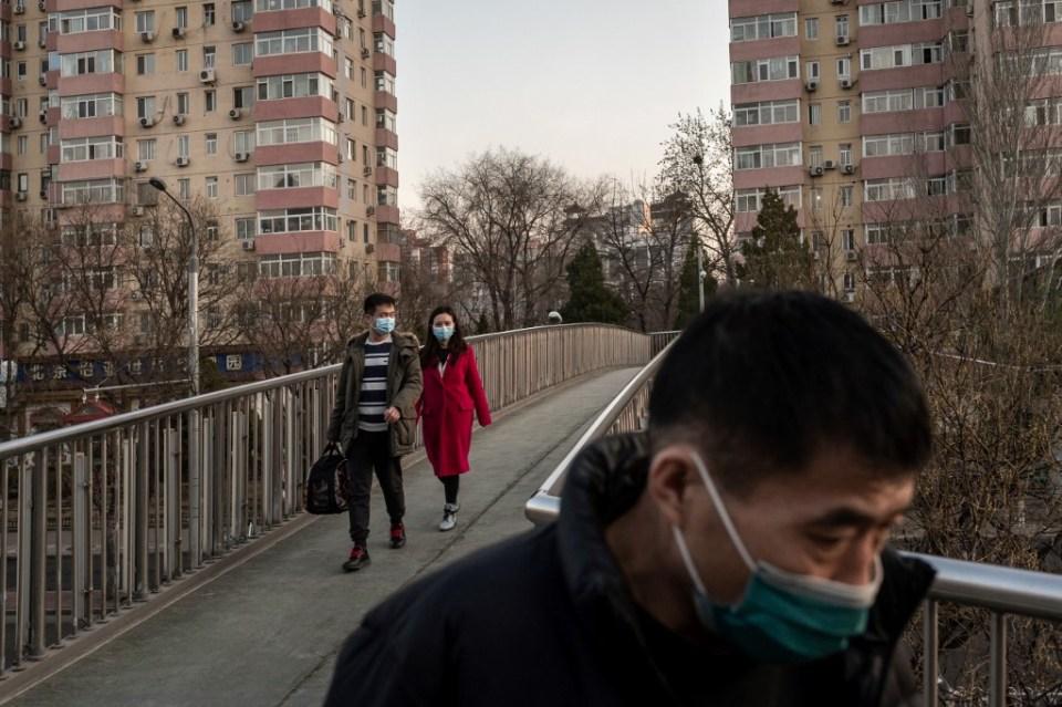 China coronavirus Beijing masks