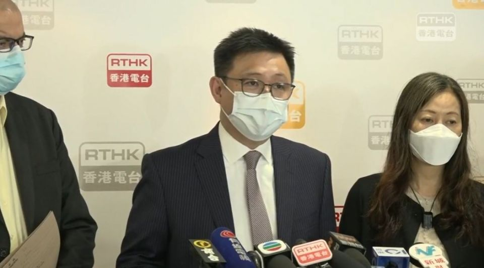 RTHK Board of Advisers chairperson Eugene Chan
