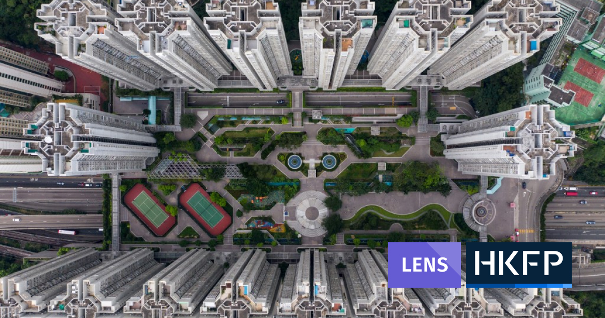 HKFP Lens: Tiled roofs and towering skyscrapers - Hong Kong as seen from above