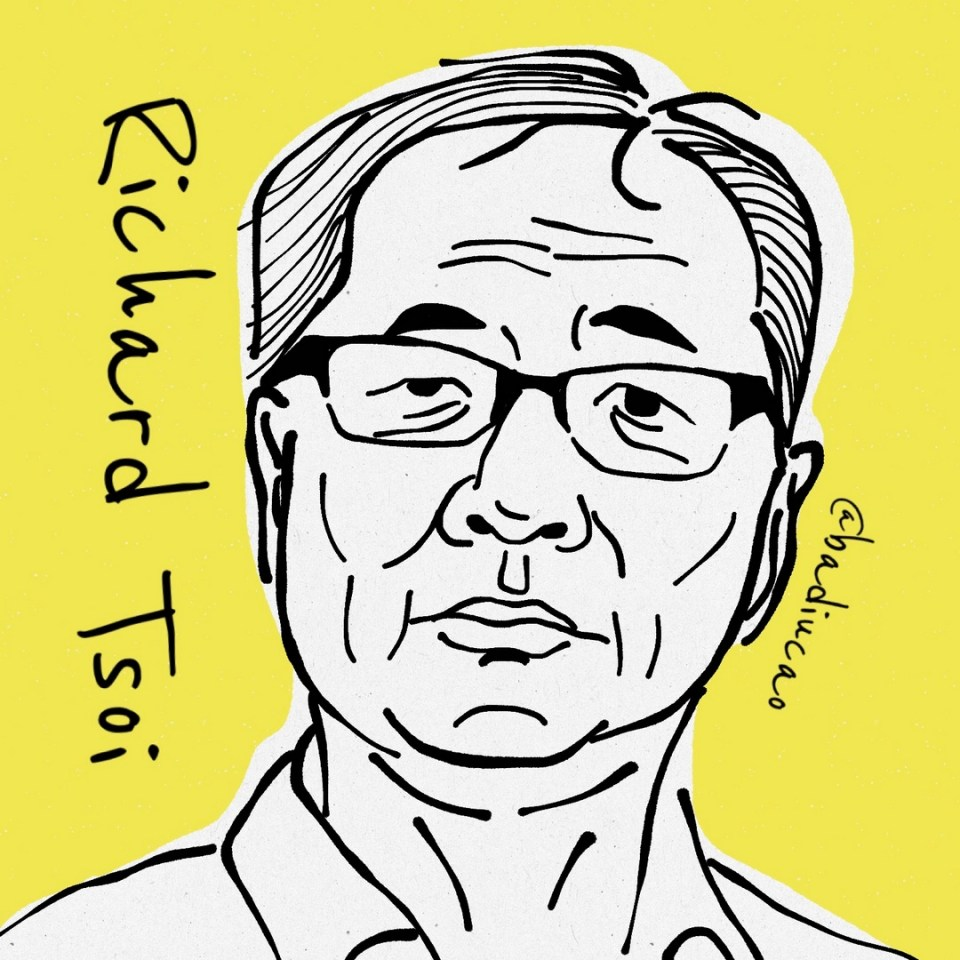 Richard Tsoi badiucao