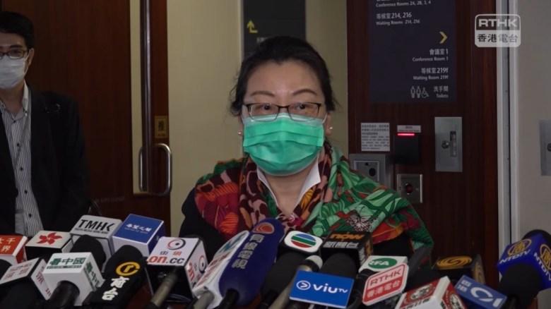 Secretary for Justice Teresa Cheng